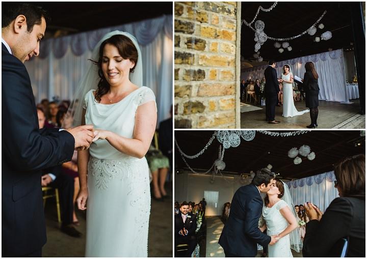 21 London Warehouse Wedding. By Amy B Photography