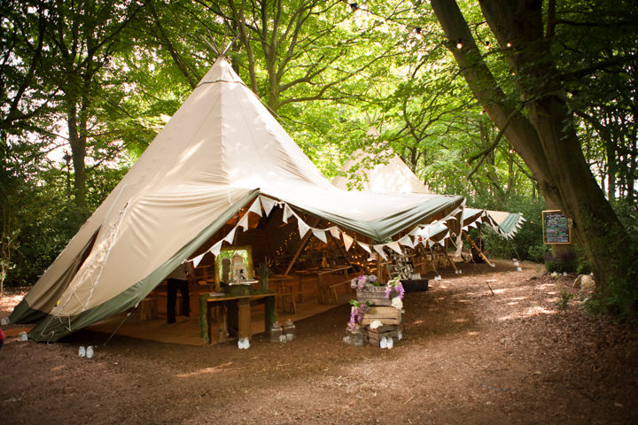 21 Woodland Tipi Wedding By Lucy Noble Photography