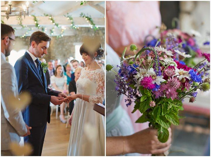 21 Yorkshire Wedding with Handmade Touches By Mark Tattersall