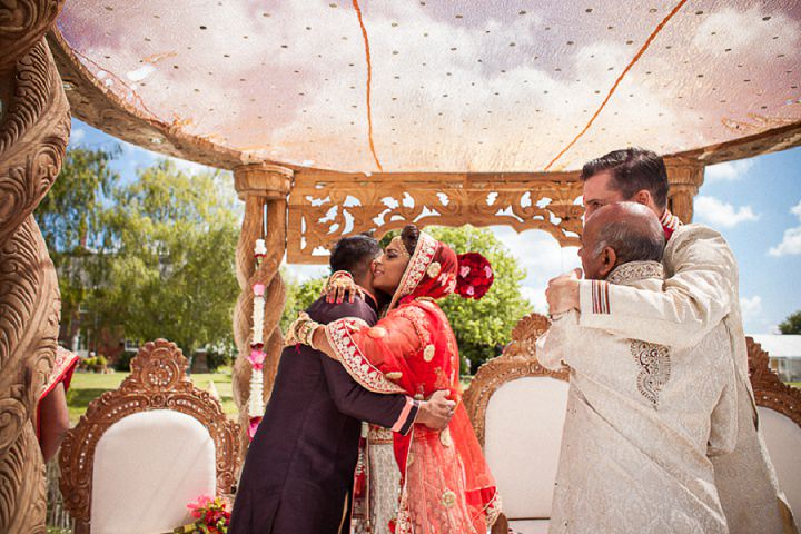 22 Bollywood Beach and Flamingos Wedding By Matt Parry Photography