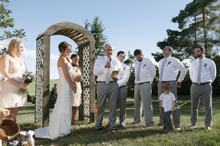 22 Wedding with Gorgeous First Look By Emily Wenzel Photography