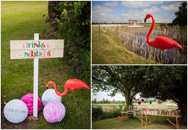 24 Bollywood Beach and Flamingos Wedding By Matt Parry Photography