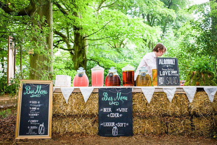 24 Woodland Tipi Wedding By Lucy Noble Photography
