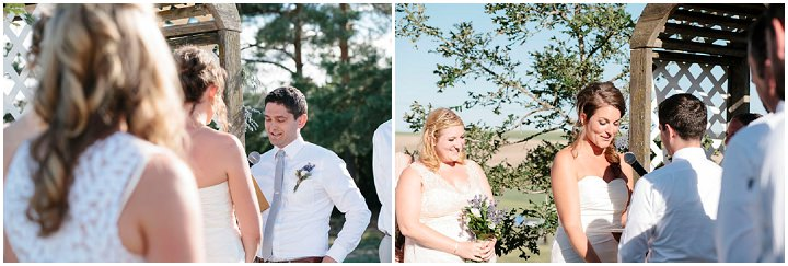 25 Wedding with Gorgeous First Look By Emily Wenzel Photography