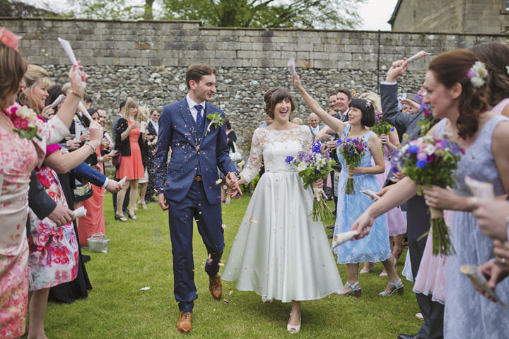 25 Yorkshire Wedding with Handmade Touches By Mark Tattersall
