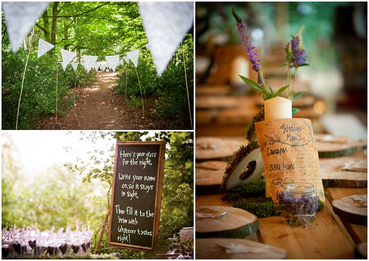26 Woodland Tipi Wedding By Lucy Noble Photography