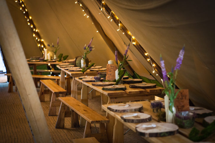 29 Woodland Tipi Wedding By Lucy Noble Photography