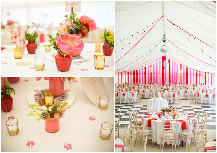 30 Bollywood Beach and Flamingos Wedding By Matt Parry Photography