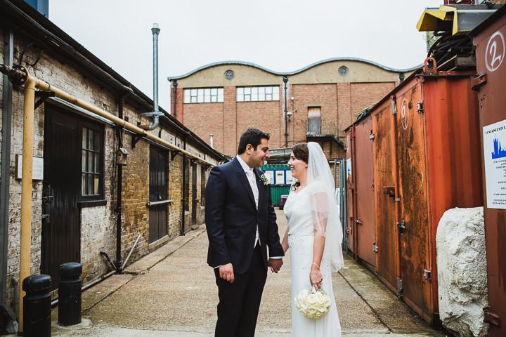 30 London Warehouse Wedding. By Amy B Photography