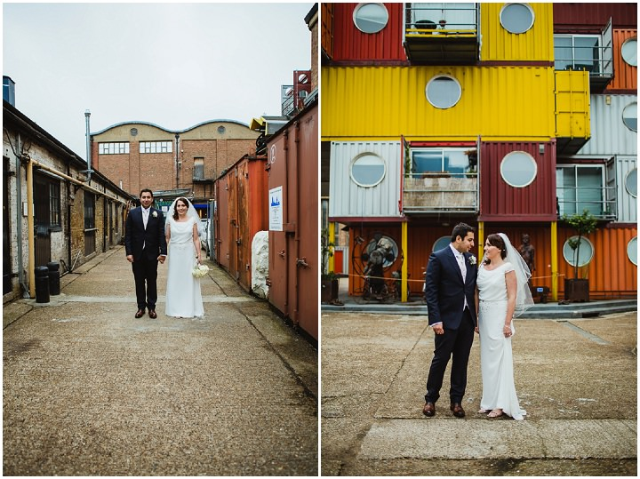 31 London Warehouse Wedding. By Amy B Photography