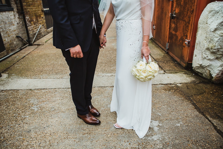 32 London Warehouse Wedding. By Amy B Photography