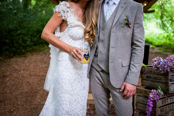 32 Woodland Tipi Wedding By Lucy Noble Photography