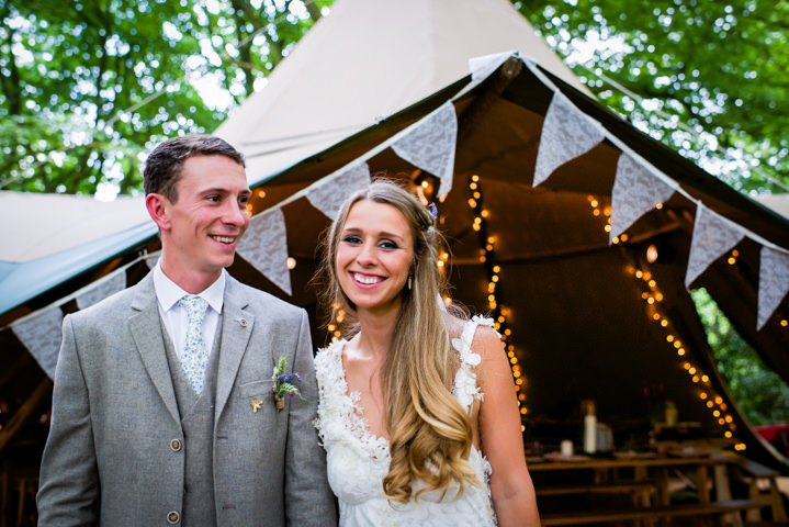 33 Woodland Tipi Wedding By Lucy Noble Photography