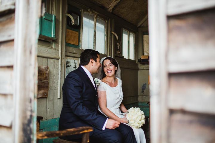 34 London Warehouse Wedding. By Amy B Photography