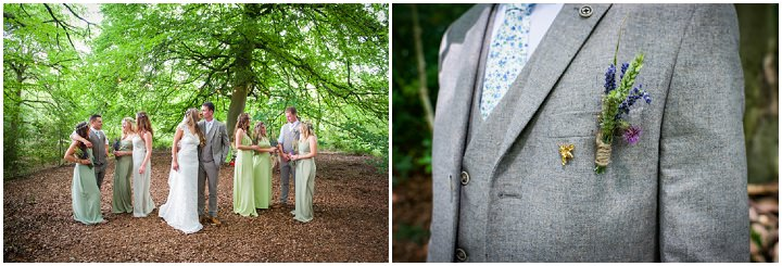 35 Woodland Tipi Wedding By Lucy Noble Photography