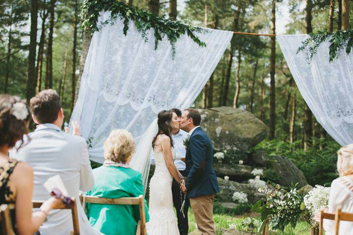 36 Woodland Wedding By McKinley Rodgers