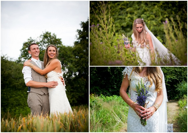 38 Woodland Tipi Wedding By Lucy Noble Photography