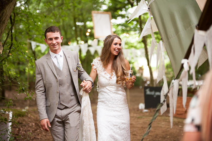 39 Woodland Tipi Wedding By Lucy Noble Photography