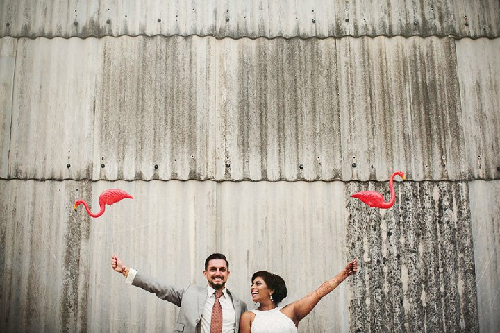 4 Bollywood Beach and Flamingos Wedding By Matt Parry Photography