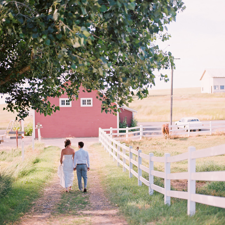 4 Wedding with Gorgeous First Look By Emily Wenzel Photography