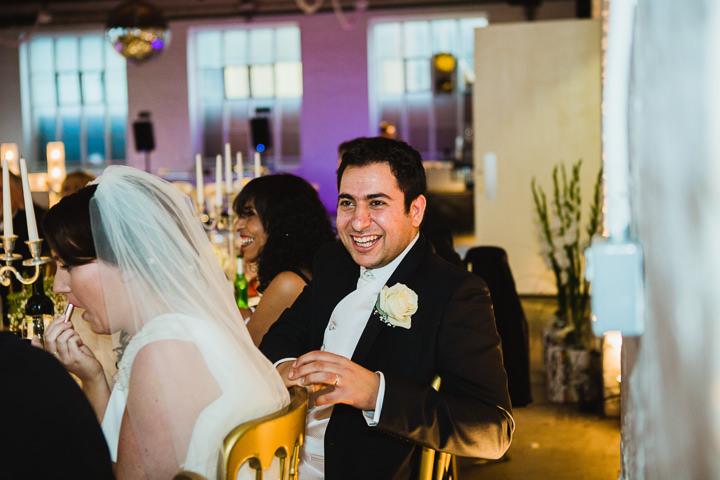 40 London Warehouse Wedding. By Amy B Photography