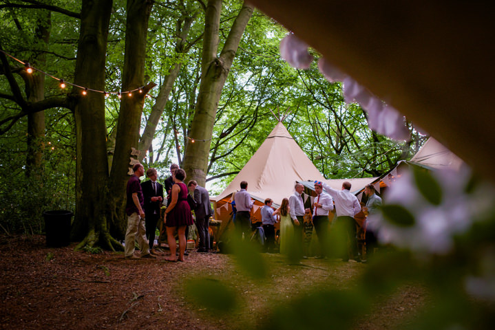 41 Woodland Tipi Wedding By Lucy Noble Photography