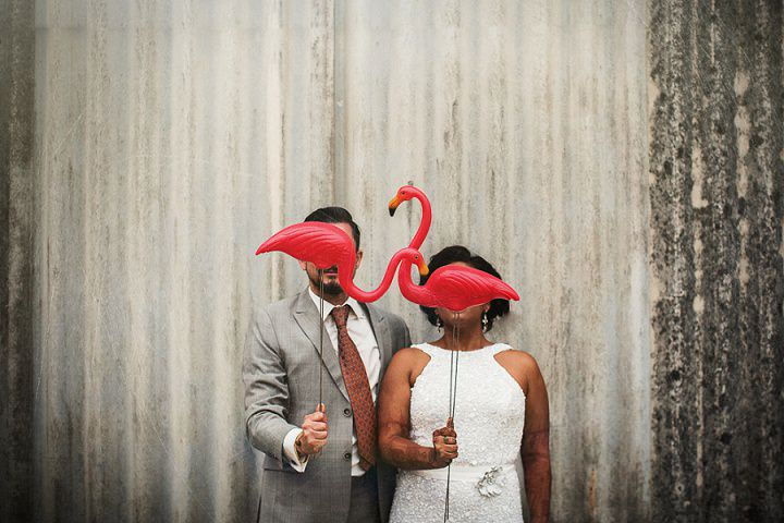 43 Bollywood Beach and Flamingos Wedding By Matt Parry Photography