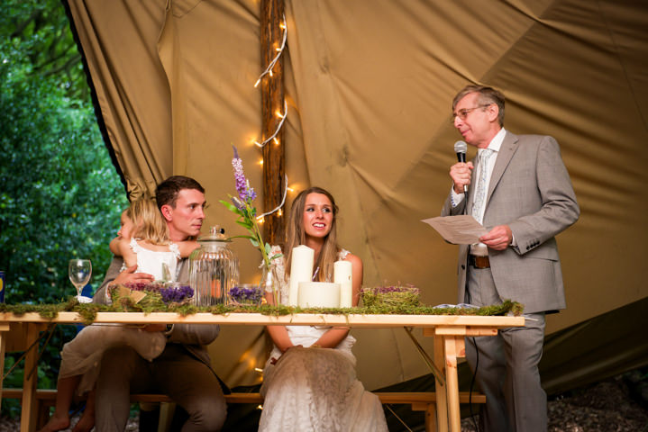 43 Woodland Tipi Wedding By Lucy Noble Photography