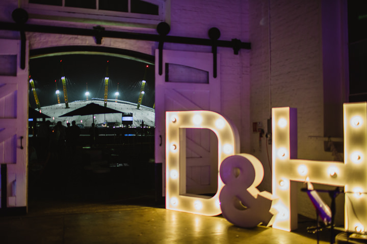 44 London Warehouse Wedding. By Amy B Photography