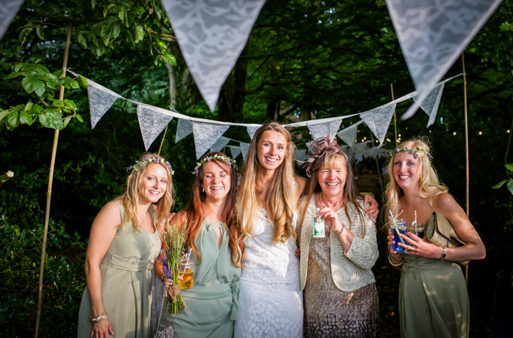 44 Woodland Tipi Wedding By Lucy Noble Photography