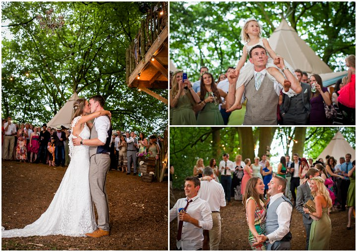48 Woodland Tipi Wedding By Lucy Noble Photography