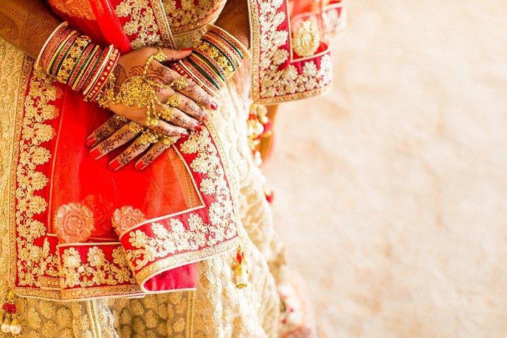 9 Bollywood Beach and Flamingos Wedding By Matt Parry Photography