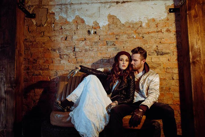 Industrial Wedding Inspired Styled Shoot