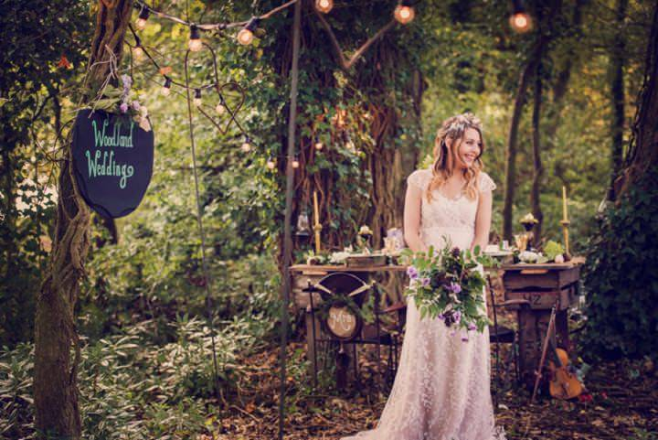 Woodland Styled Shoot