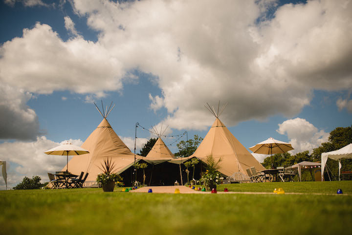 2 Tipi Wedding By Kyle Hassall Photography