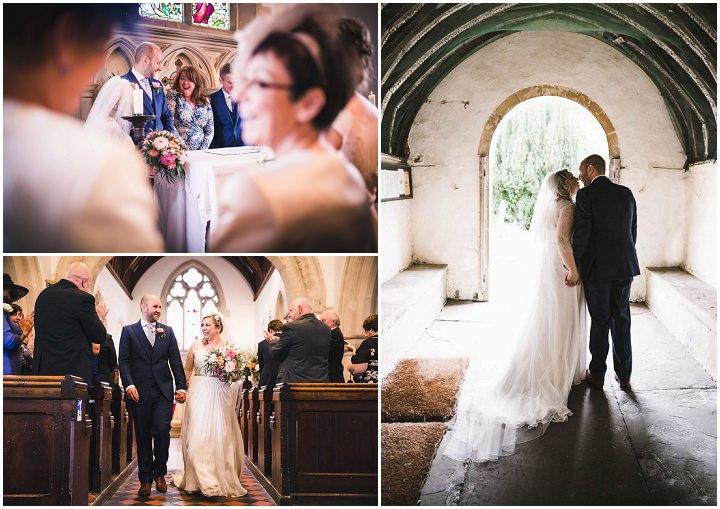 21 Village Hall Wedding By A Tall Long Legged Bird