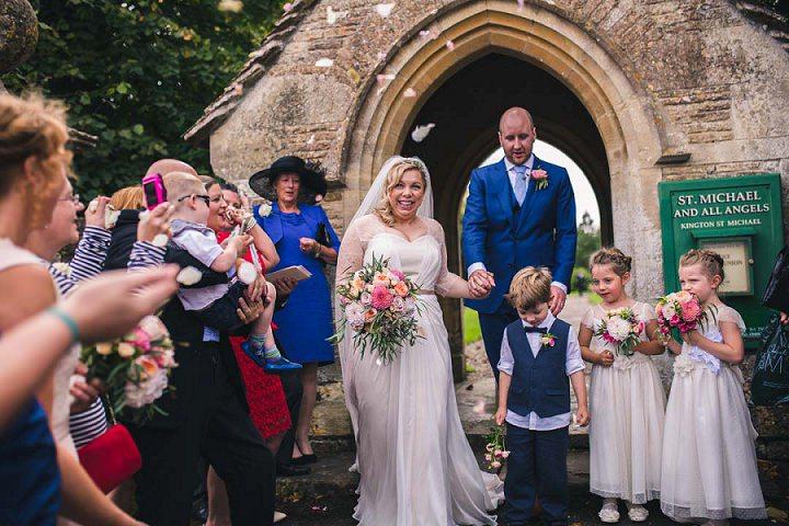 22 Village Hall Wedding By A Tall Long Legged Bird