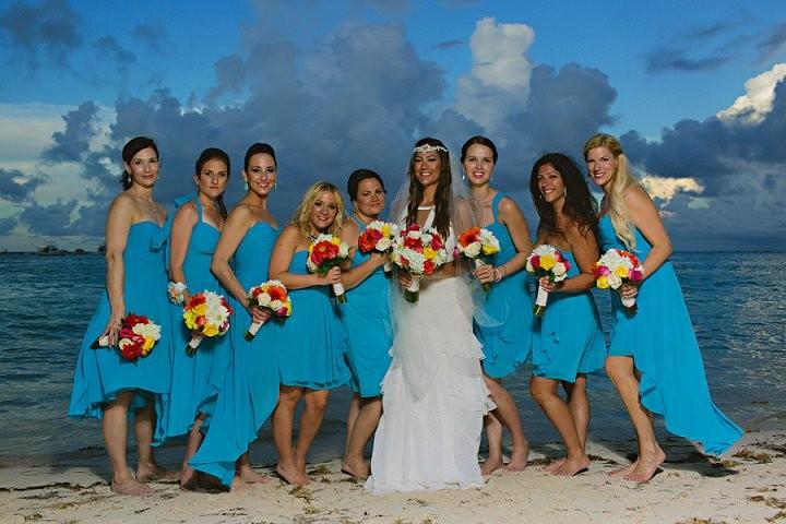 28 Wedding in the Dominican Republic. By Katya Nova Photography