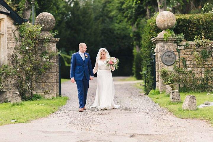 36 Village Hall Wedding By A Tall Long Legged Bird