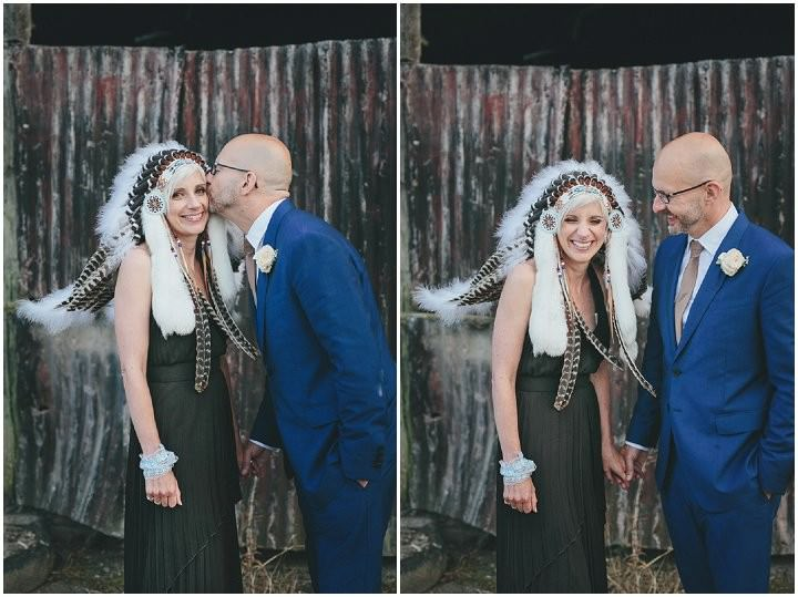 51 Bonkers Barn Wedding With a Black Wedding Dress by Helen Lisk