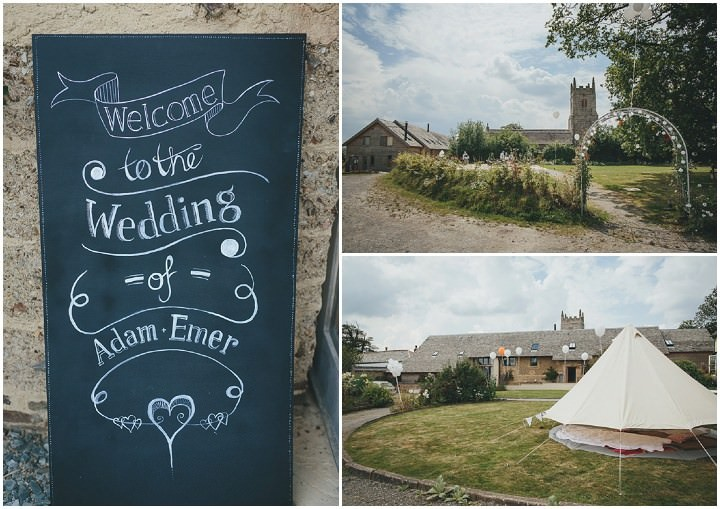 6 Bonkers Barn Wedding With a Black Wedding Dress by Helen Lisk