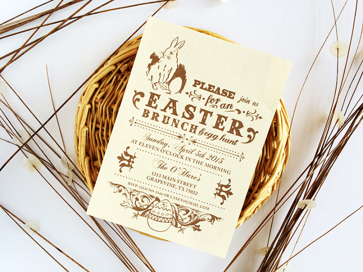 Free-Vintage-Easter-Brunch-Invitation