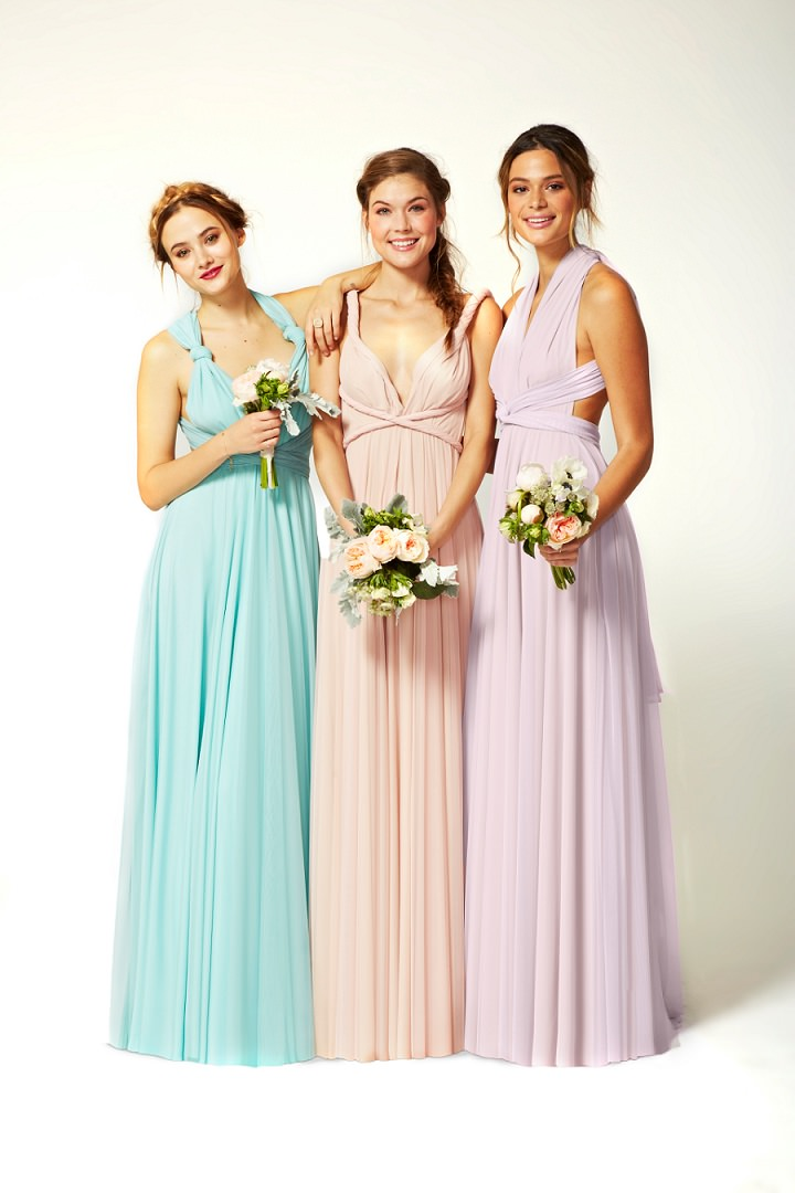 Bridal Style: Two Birds Spring 2015 Collection, beautiful multi ...
