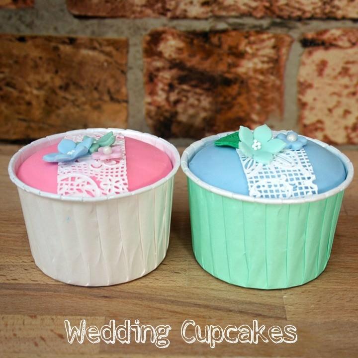 DIY Tutorial - Wedding Cupcakes