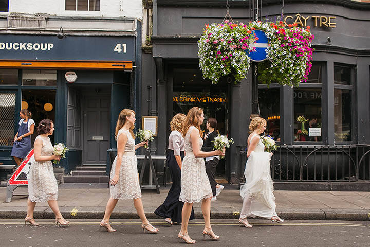 17 London City Wedding at the Groucho Club By Paul Joseph Photography