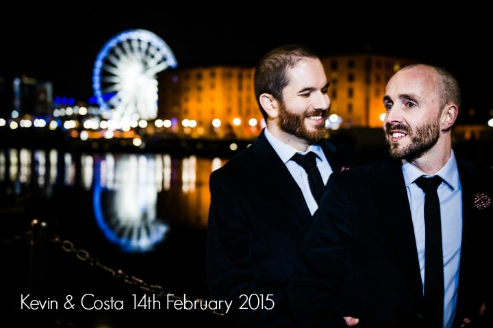 Kevin and Costa's Intimate and Personal Art Loving Wedding. By David Walters Photography