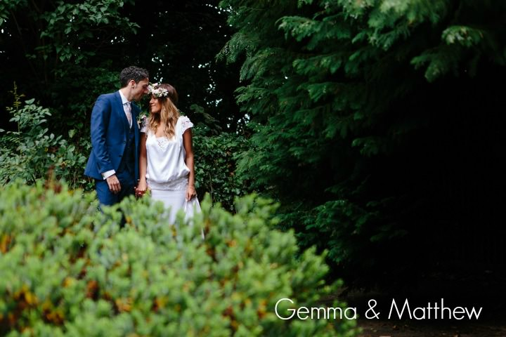 Gemma and Matthew's Handmade Summer Wedding. By Mark Newton Weddings