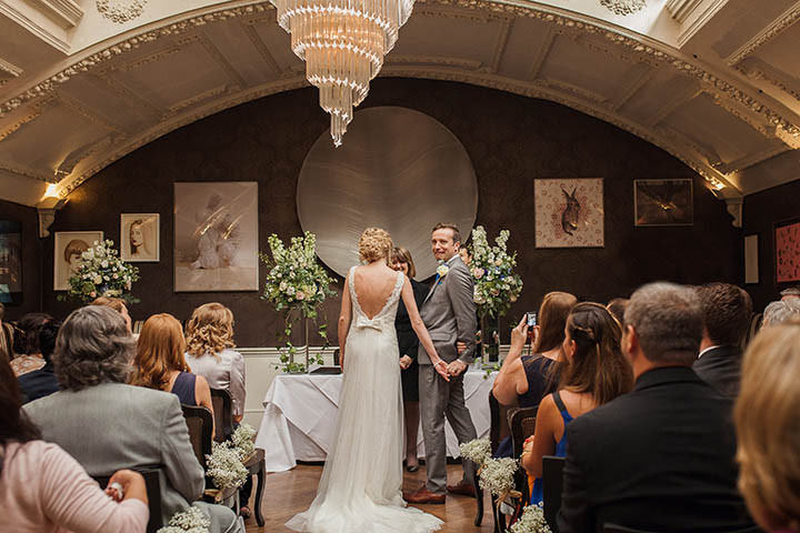 24 London City Wedding at the Groucho Club By Paul Joseph Photography