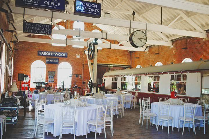 3 Railway Museum Wedding By Matthew Long