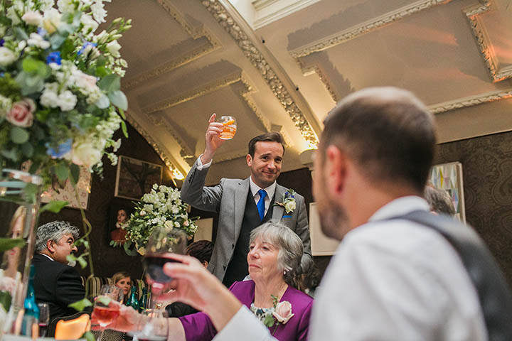 42 London City Wedding at the Groucho Club By Paul Joseph Photography
